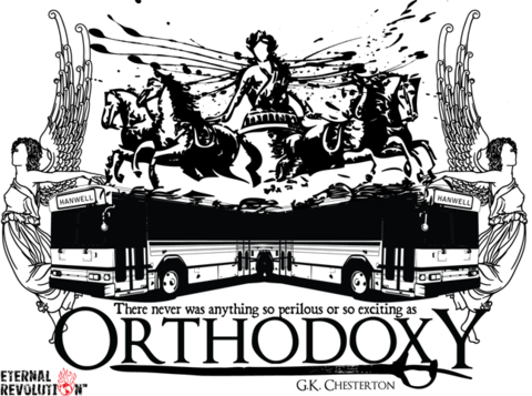Orthodoxy T-Shirt Design G.K. Chesterton
