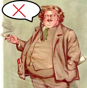 Not Said by Chesterton